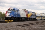 Northstar backup locomotive from Utah Frontrunner