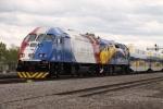 Northstar backup locomotive from Utah Frontrunner