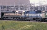 EMDX 9028 on coal train
