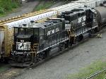 NS Railpower RP20BD 101 & EMD GP38-2 5001