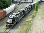 NS EMD GP38-2's 5293 & 5217 with Railpower RP20BD 100