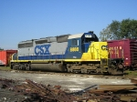 CSXT 8888 Welded To The Rail At New River Yard