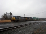 Westbound stacks at Cobblestone Road
