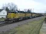 UP 3080 heads west