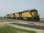 UP 1362 at Evansville Grain Elevator