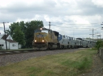 UP 5005 and California Zephyr