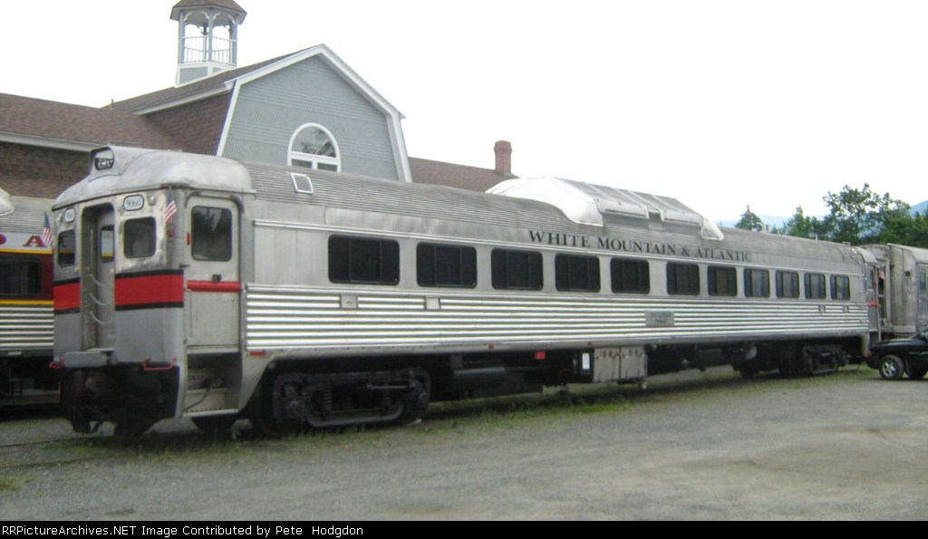 Privately owned RDC 1 Rail Car at the Hobo RR Lincoln, N.H>(quite a contrast to the Cab-Coach RDC car shown also in this album)