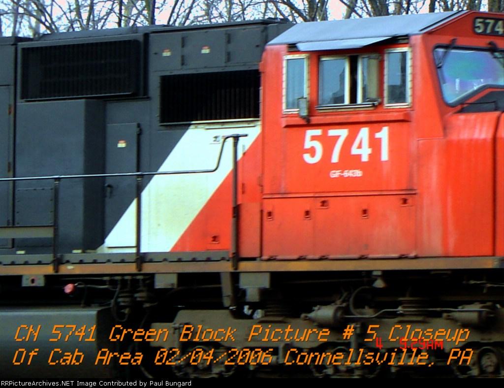 CN 5741 SD75I 2/4/2006 PIC 4