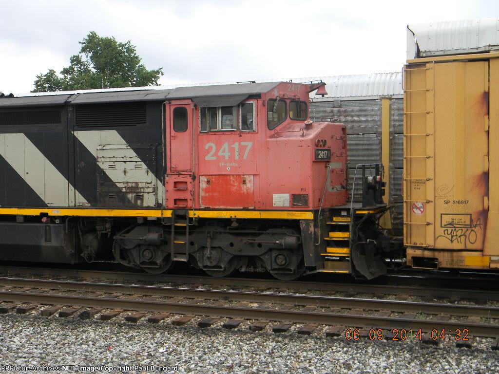 CN 2417 C40-8M  6/9/2014 PIC 3