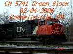 CN 5741 SD75I 2/4/2006