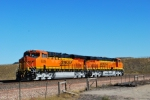 BNSF 6339 and BNSF 6337 Glisten in the sun with their brand new BNSF Swoosh logo.