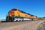 BNSF 6339 and BNSF 6337 wait patiently for a south bound coal train to push it south to the coal mines.