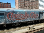 Christmas Carol Baggage Car