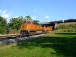 BNSF 5055 and 4852