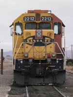 Front view of the old ATSF