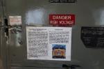 UP 6936 at the Portola museum - Cab shot