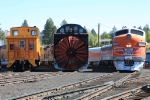 WP 805-A, a rotory snow plow and a caboose (not the start of a joke)
