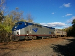 Westbound Amtrak Train #449 (The Lakeshore Limited)