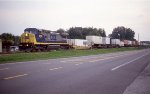 CSX 9000 class leader, solo on Q188