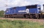 CSX 8750 leading NB intermodal