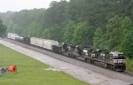 NS WB freight heading for the arrival yard