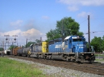 Ex Con CSXT 8814 On The Point on CSX Q 507 Southbound