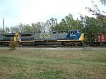 CSX 600 is now classed as a CW44-6