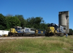 SD50-2's under the coal tower