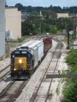 CSX 2639 brings Y103 back from serving customers east of town