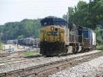 CSX 55 & 4560 roll up the Even Lead with Q335-14