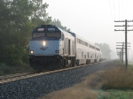 P371-22 storms west with its 3 Superliners