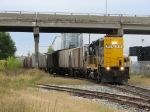 GDLK120 waits for the signal to head onto CSX rails