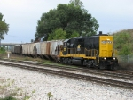 GDLK120 rolls onto CSX starting its short trip up to the GRE as Z739