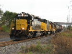 4124 leads GDLK303 north away from Fisher