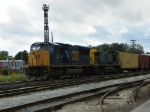 CSX 4741 and 133