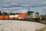 Southbound KCS Intermodal Train
