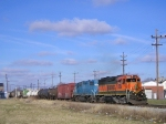 BNSF 3005 On NS 123 Eastbound