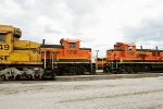 BNSF 6949, 1230, and 1282