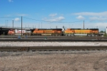 BNSF 692/7475/4068 Moving Into The Yard For Fuel