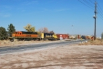 BNSF 7143 On Point Bound For Golden