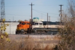BNSF 6414 And BNSF 9648, Two Coal Trains Waiting To Head South