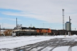 BNSF 9676 Point On South Bound Coal Train