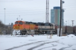 BNSF 5712 Point On South Bound Coal Train