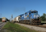 CSX A748 heading out of the siding