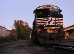 NS 2717 on the house track