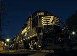 NS 5521 rests the night at Chamblee