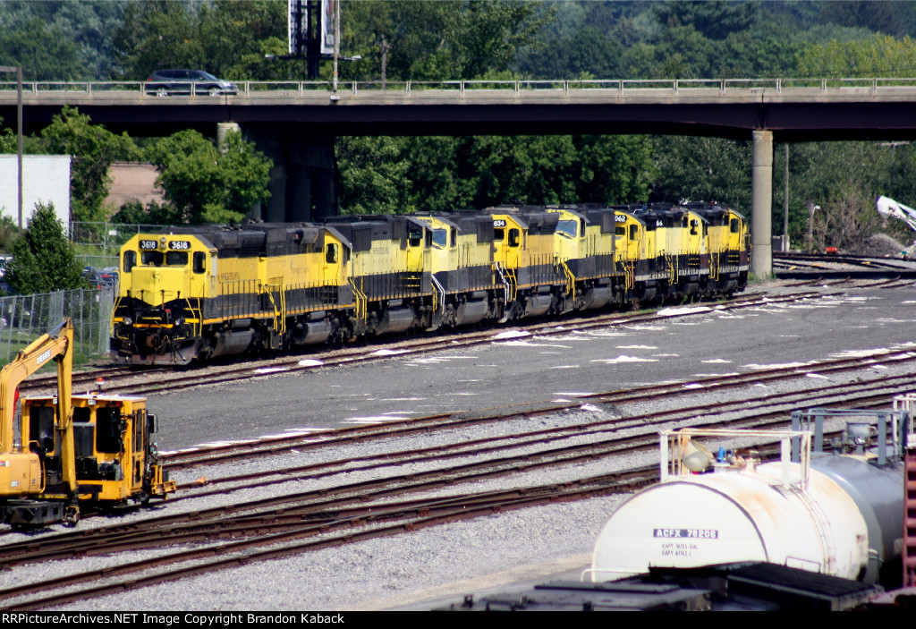 Stored Locomotives