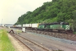 Eastbound intermodal eases through Hoffman