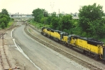 Westbound coal train gets signal at St. Anthony