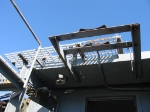 Headlight bracket/roofwalk